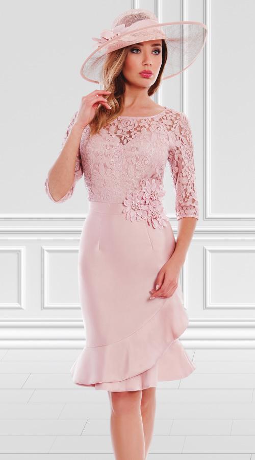Vestido Leticia 3180013 | Tocado 3180908