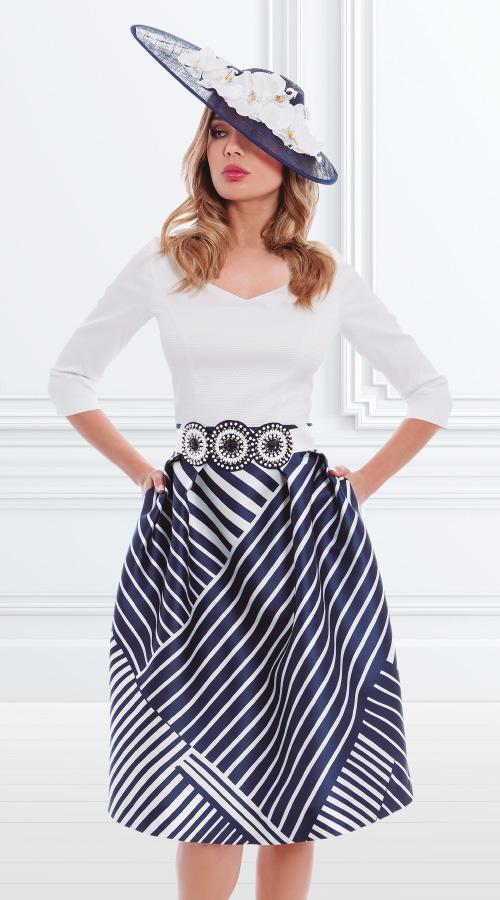Vestido Claudia 3180022 | Tocado 3180912